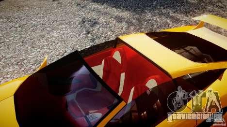 Lamborghini Cala для GTA 4 вид изнутри