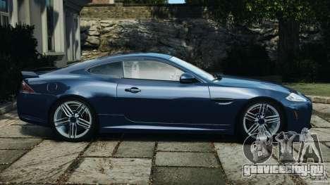 Jaguar XKR-S Trinity Edition 2012 v1.1 для GTA 4 вид слева