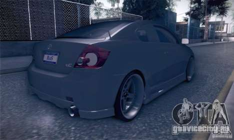 Scion Tc Street Tuning для GTA San Andreas вид справа