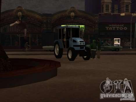Трактор МТЗ 922 для GTA San Andreas вид слева