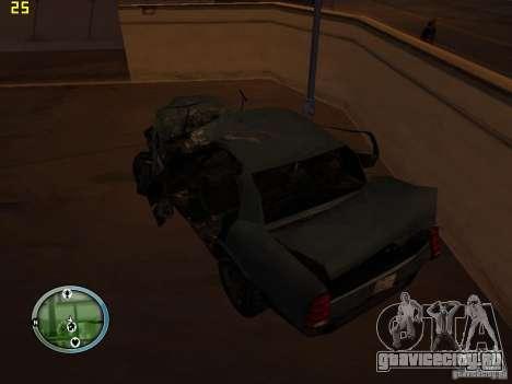 Разбитые тачки на Грув Стрит для GTA San Andreas восьмой скриншот
