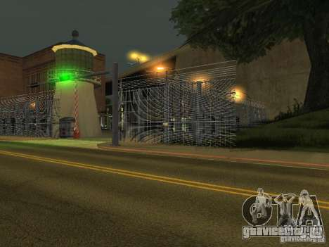 Автобусный парк v1.1 для GTA San Andreas второй скриншот