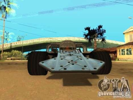 Fast & Furious 6 Flipper Car для GTA San Andreas вид слева