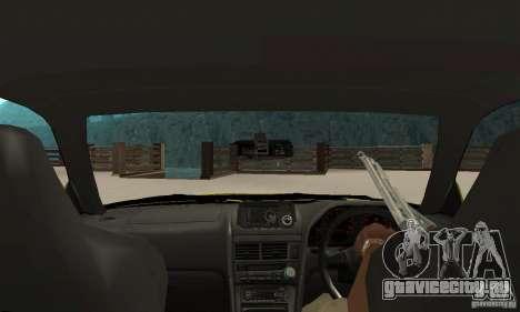 Nissan Skyline R34 GTR для GTA San Andreas вид справа