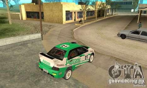 Mitsubishi Lancer Evolution IX для GTA San Andreas колёса