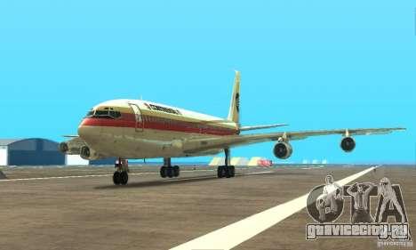 Boeing 707-300 для GTA San Andreas
