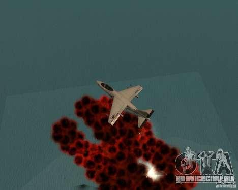 Cluster Bomber для GTA San Andreas шестой скриншот