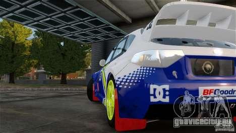 Subaru Impreza WRX STI Rallycross BFGoodric для GTA 4 вид справа