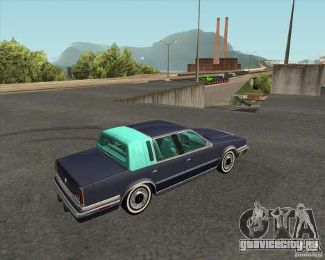 Chrysler New Yorker 1988 для GTA San Andreas вид слева