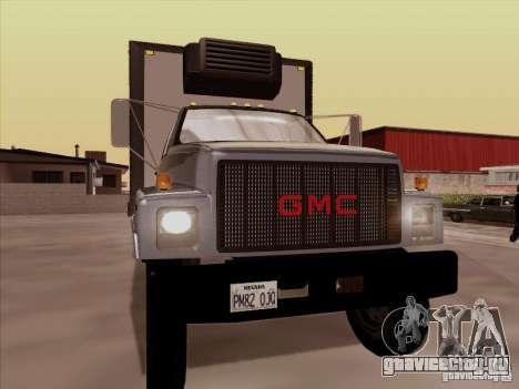 GMC Top Kick 1988 для GTA San Andreas вид слева
