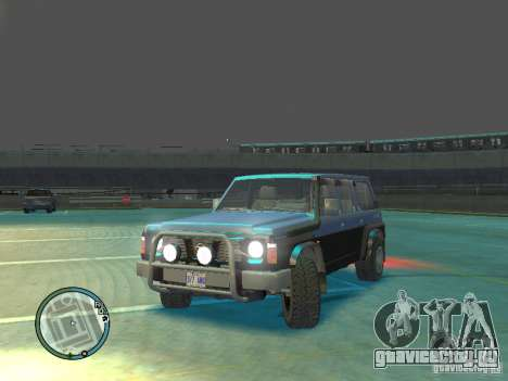 Nissan Safari 1992 для GTA 4