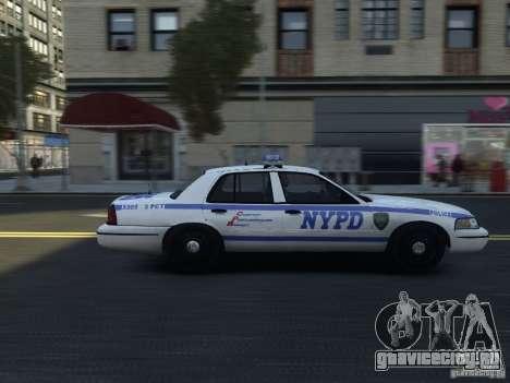 Ford Crown Victoria NYPD 2012 для GTA 4