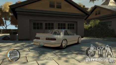 Nissan Silvia s13 Drifted v1.0 для GTA 4 вид слева