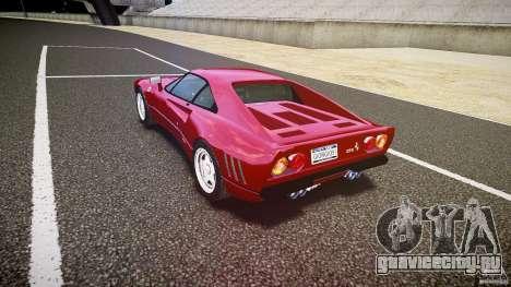Ferrari 288 GTO для GTA 4 вид сбоку