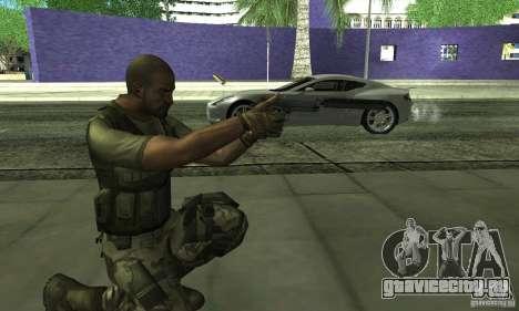 Sam Fisher Army SCDA для GTA San Andreas четвёртый скриншот