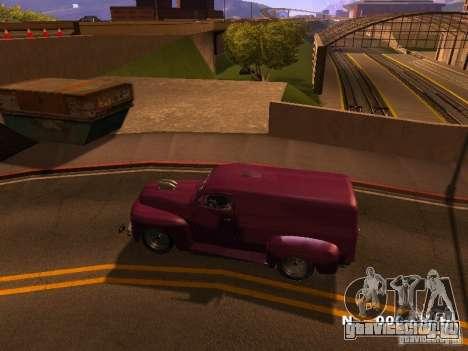 49 Ford HR Van для GTA San Andreas вид слева