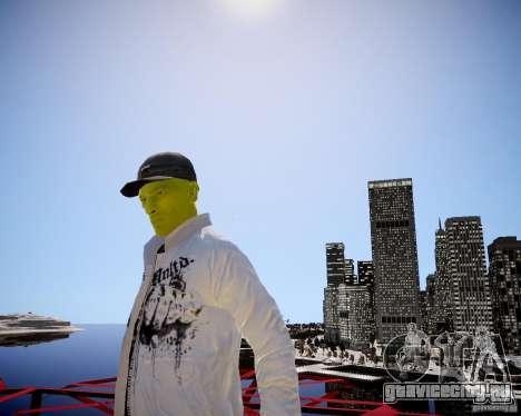 Niko The Mask для GTA 4 четвёртый скриншот