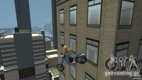 The Lost and Damned Bikes Hexer для GTA 4 вид справа