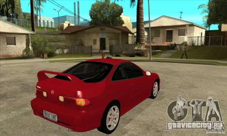 Acura Integra Type-R - Stock для GTA San Andreas вид справа