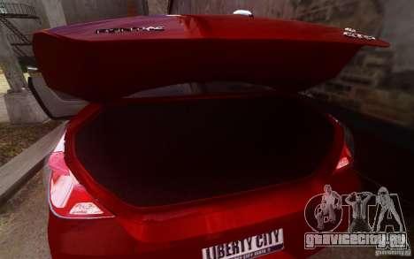 Pontiac G6 для GTA 4 салон