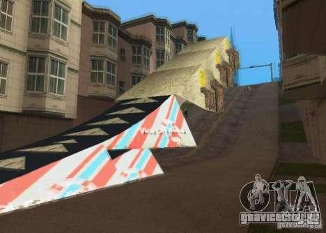 Jump Ramp Stunting для GTA San Andreas второй скриншот
