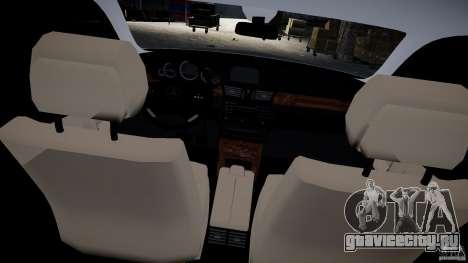 Mercedes E-Class универсал для GTA 4 вид изнутри