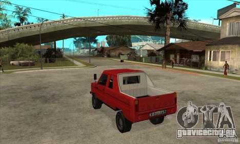 FSR Tarpan 237D (v.1) для GTA San Andreas вид сзади слева