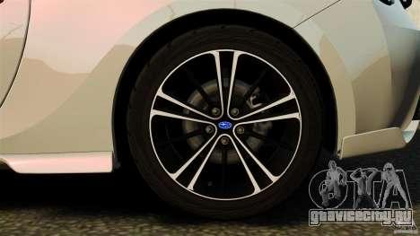 Subaru BRZ Rocket Bunny Aero Kit для GTA 4 вид изнутри