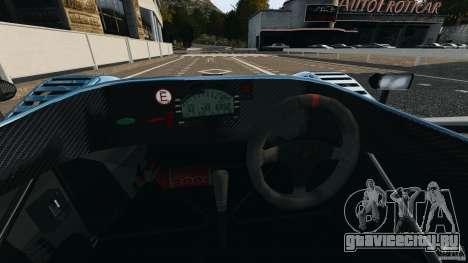 Radical SR3 для GTA 4 вид сзади