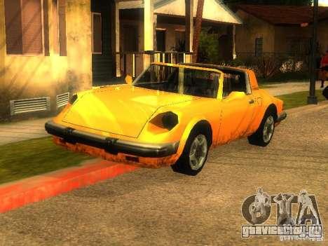 New Car in Grove Street для GTA San Andreas