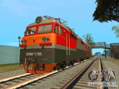 ВЛ80м - 1785 РЖД для GTA San Andreas