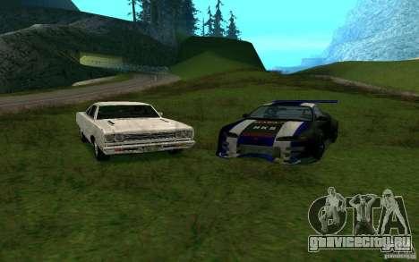 Mitsubishi Eclipse 1999 Sport для GTA San Andreas вид сзади слева
