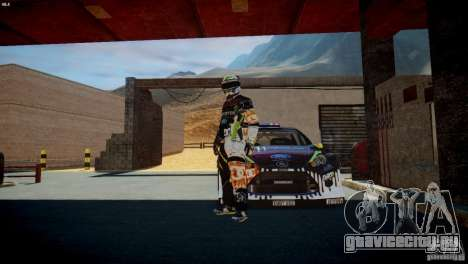 Ken Block Gymkhana 5 Clothes (Unofficial DC) для GTA 4 пятый скриншот