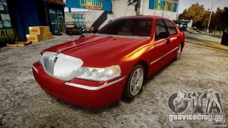 Lincoln Town Car 2003 для GTA 4