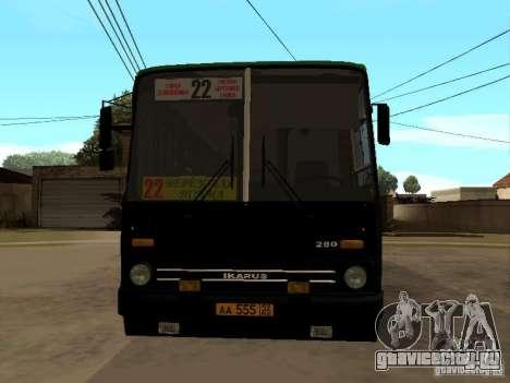 IKARUS 280 33M для GTA San Andreas вид сзади слева