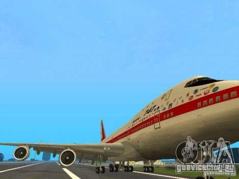 Boeing 747-100 для GTA San Andreas вид слева
