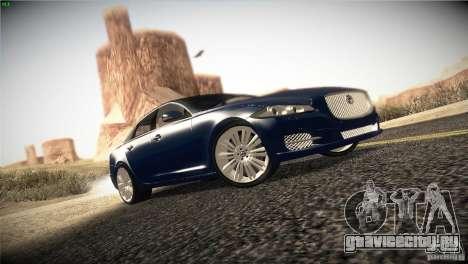 Jaguar XJ 2010 V1.0 для GTA San Andreas