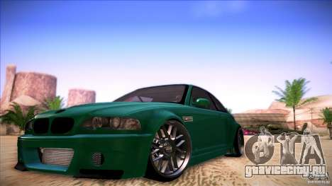 BMW E46 Drift II для GTA San Andreas