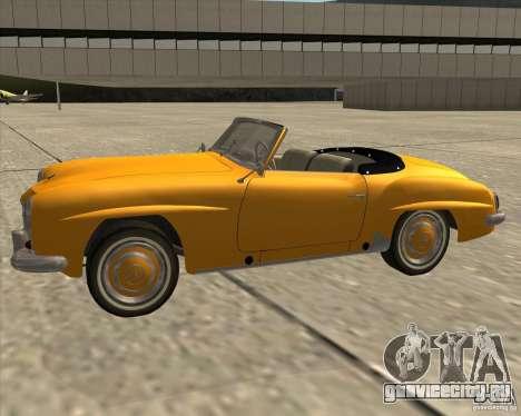 Mercedes Benz 190SL 1960 для GTA San Andreas вид справа