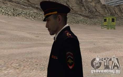 Сотрудник МВД для GTA San Andreas третий скриншот
