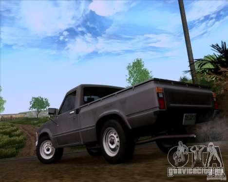 Toyota Truck RN30 для GTA San Andreas вид слева