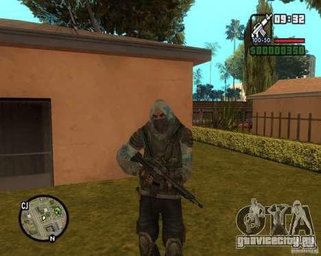 Сталкер из Чистого Неба для GTA San Andreas