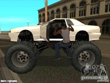 Elegy Monster для GTA San Andreas вид слева