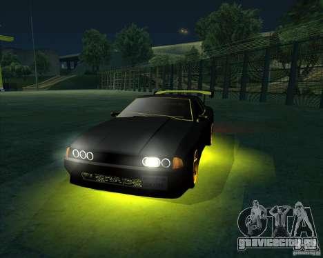 NEON mod для GTA San Andreas пятый скриншот