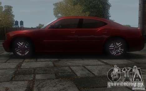 Dodge Charger RT Hemi 2008 для GTA 4 вид слева