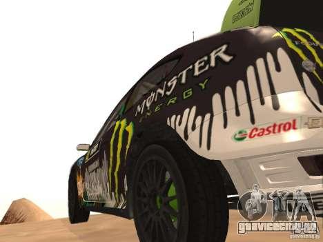 Ford Focus RS2000 v1.1 для GTA San Andreas вид сзади слева