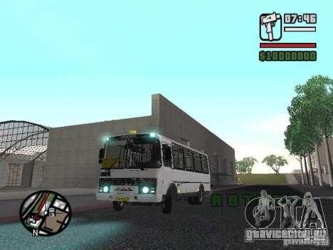 ПАЗ-32054 для GTA San Andreas вид слева
