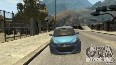 Hyundai IX20 2011 для GTA 4 вид слева