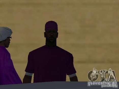 Новые скины Баллас для GTA San Andreas седьмой скриншот