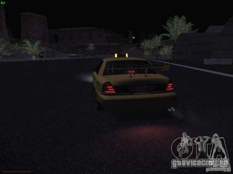 Ford Crown Victoria Taxi 2003 для GTA San Andreas вид снизу